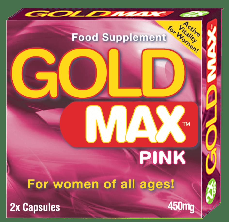 Gold Max Pink Libido Pills