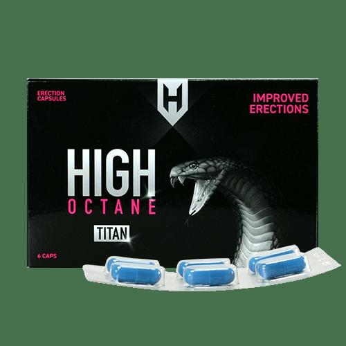 High Octane Titan Caps